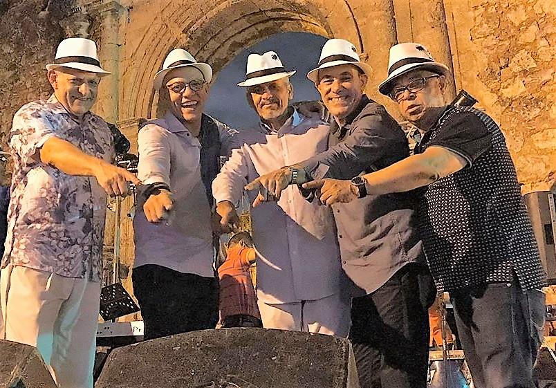 Integrantes del Grupo Bonye música de República Dominicana