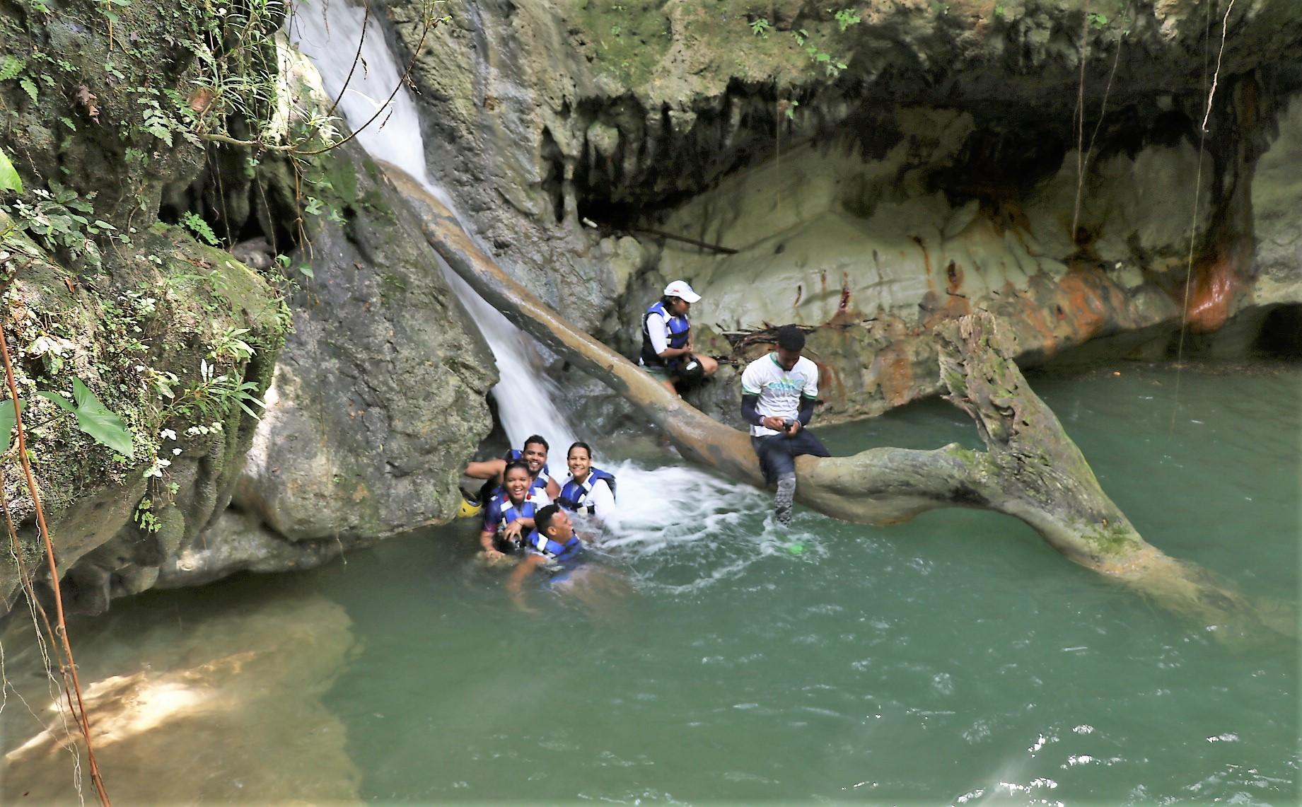 El tinajón número 5 en el Sendero de los Tinajones en Jamao al Norte.