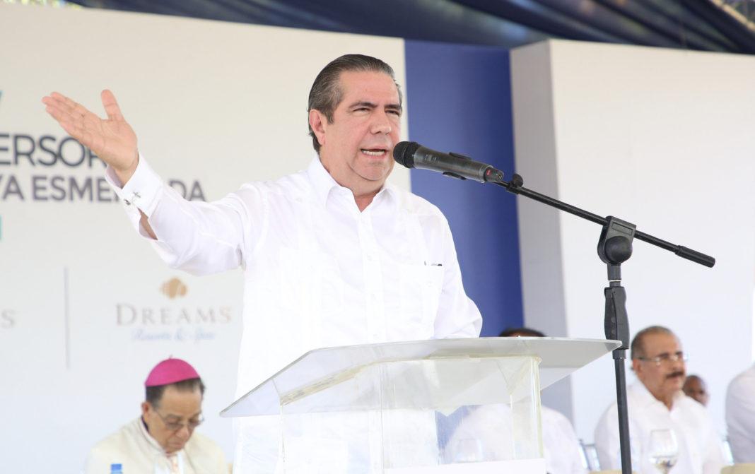 Francisco Javier García, ministro de Turismo de la República Dominicana.