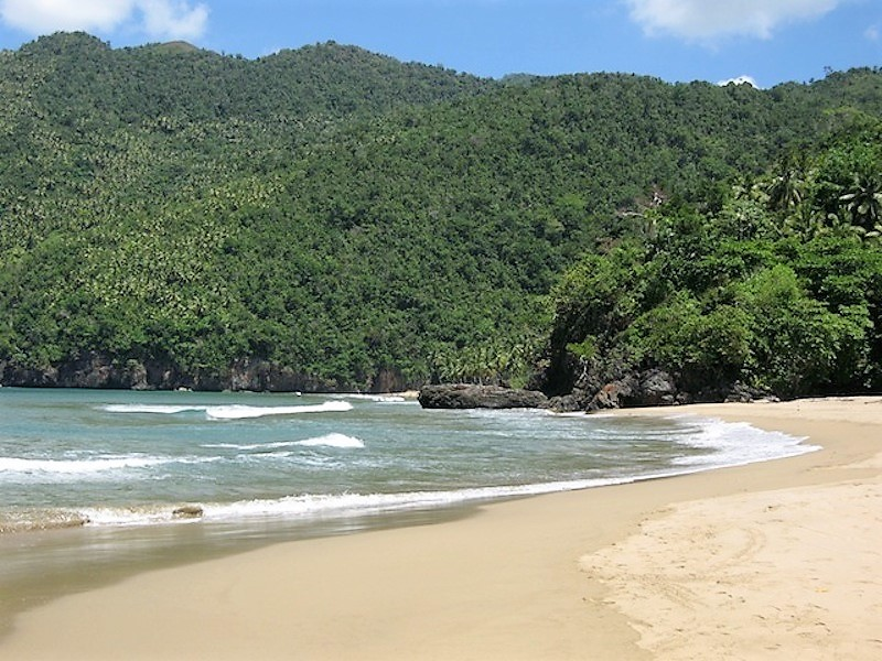 Playa El Valle, en Samaná
