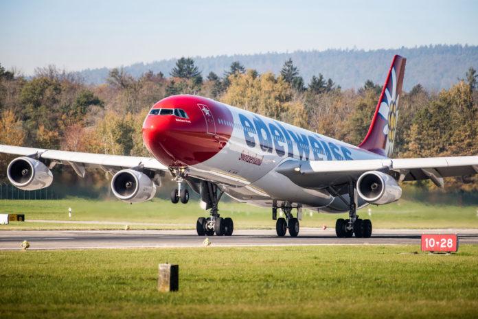 Nuevo vuelo a Puerto Plata desde Zúrich, Suiza con Edelweiss