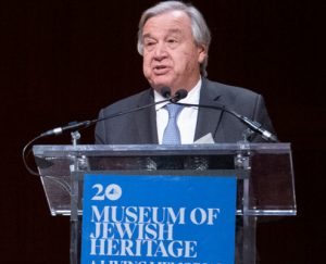 Antonio Guterres Sec Gral ONU