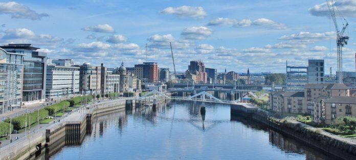 La ciudad escocesa de Glasgow, sede de la COP26, cuya celebración en noviembre se aplazó a causa de la pandemia del coronavirus