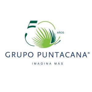 Logo Grupo Puntacana 50 aniversario