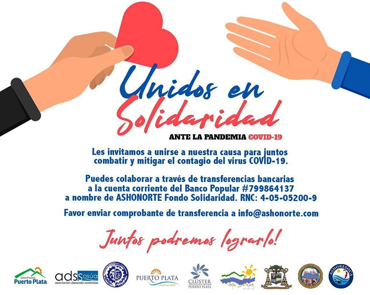 Solidaridad ante el Covid-19 en Puerto Plata