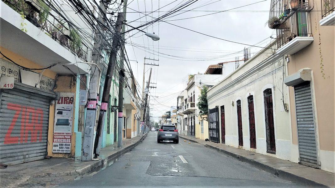 Calle de la Ciudad Colonial de Santo Domingo