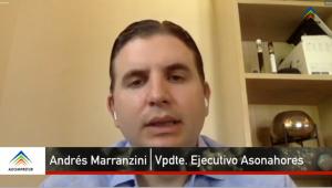 Andrés Marranzini, vicepresidente ejecutivo de Asonahores