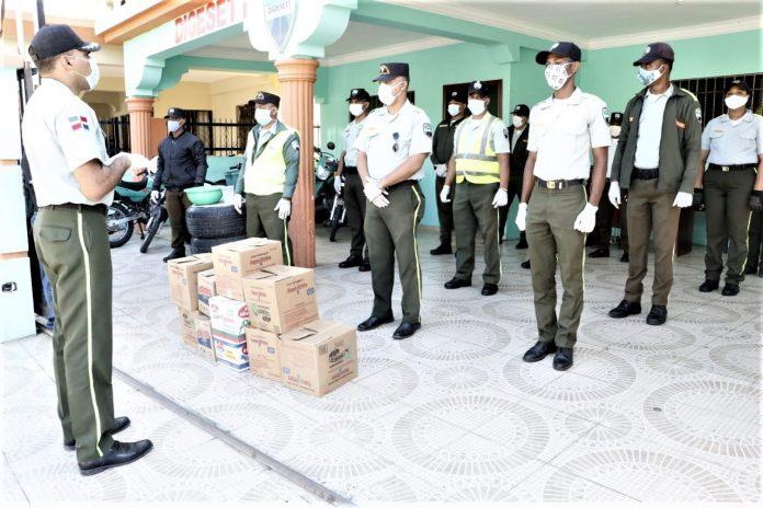 Solidaridad de COAPOL y empresarios veganos con la Policía en tiempos del covid-19
