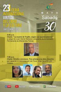 23ª de la Feria Internacional Virtual del Libro y la Cultura Santo Domingo 2020.