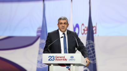 el secretario general de al OMT, Zurab Pololikashvili