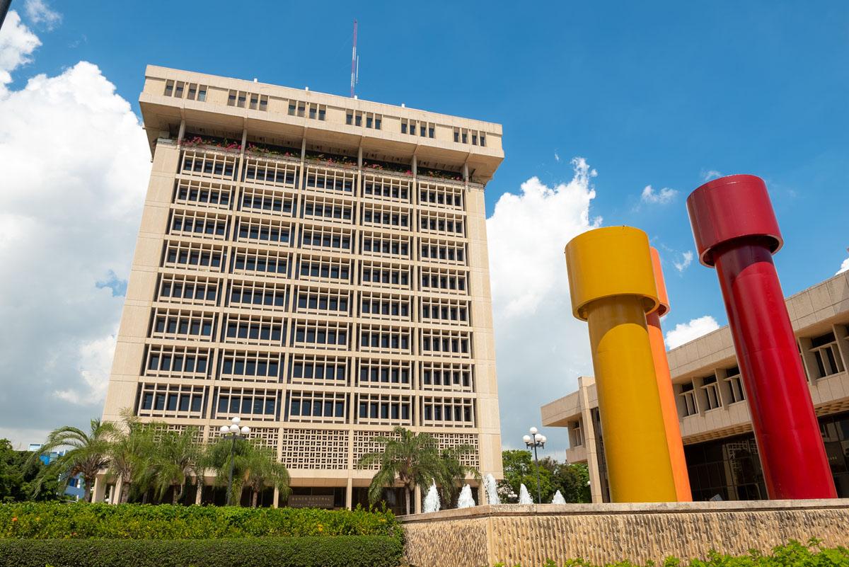 Sede del Banco Central de la República Dominicana