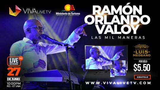 Concierto Las Mil Maneras Ramón Orlando