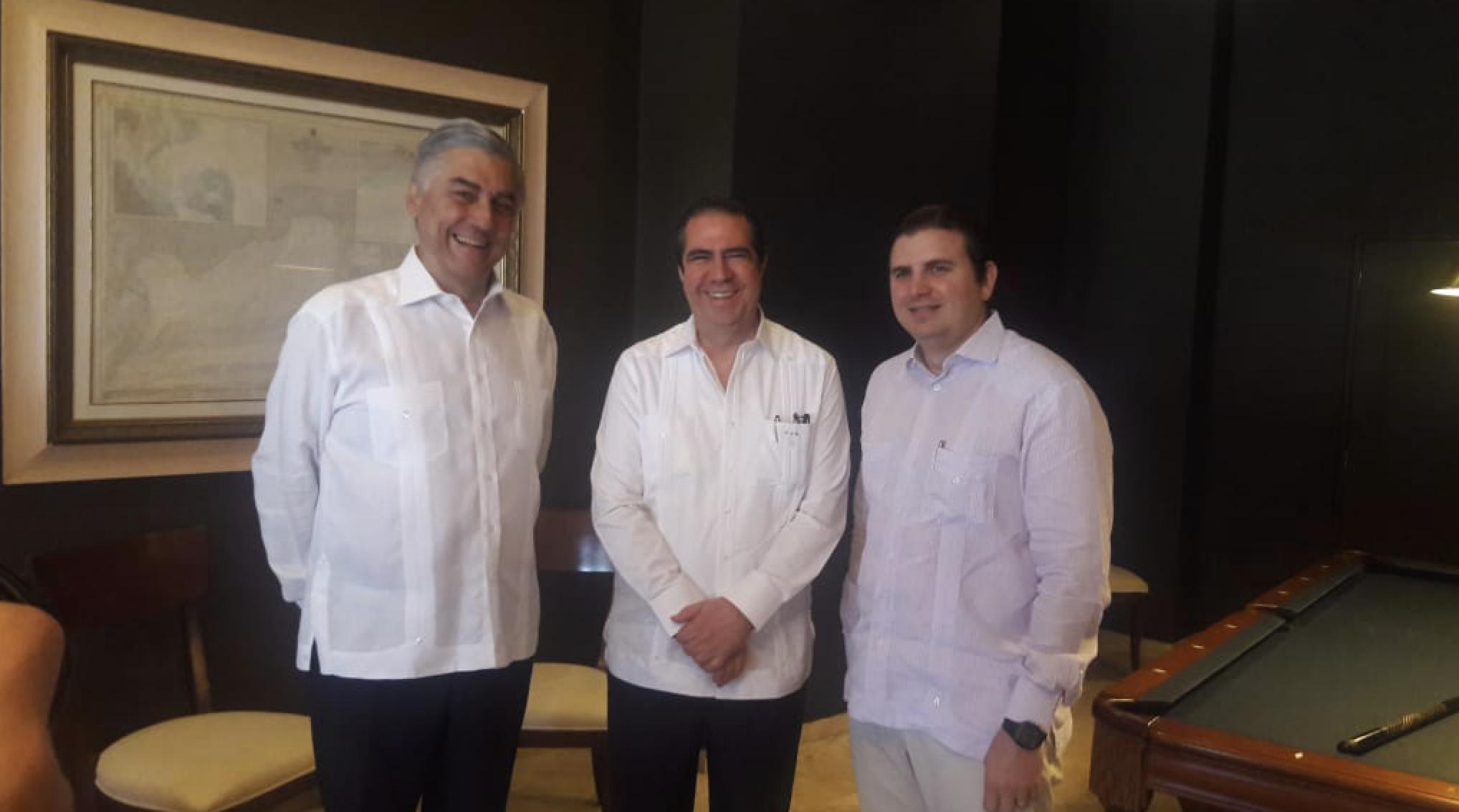 Juan Bancalari, Francisco Javier García y Andrés Marranzini