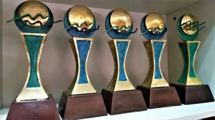 Trofesos del Premio Nacional de Prensa Turística Epifanio Lantigua