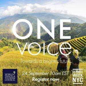 """One Voice - Acelerando la Agenda de Sostenibilidad""""."""
