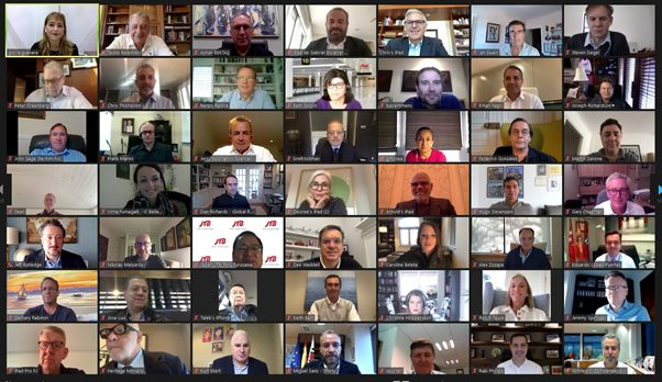 WTTC alberga la primera AGM virtual con la asistencia de más de 120