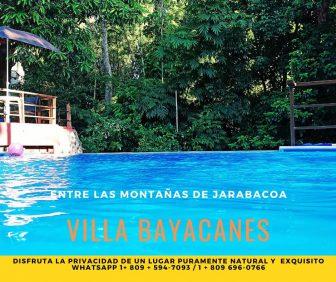 Villa Bayacanes, casa rural
