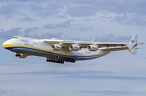 Al aire de nuevo el avión más grande del mundo, el gigante An-225 Mriya