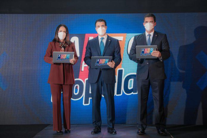 Autoferia Popular en República Dominicana con tasas fijas desde 6.45%