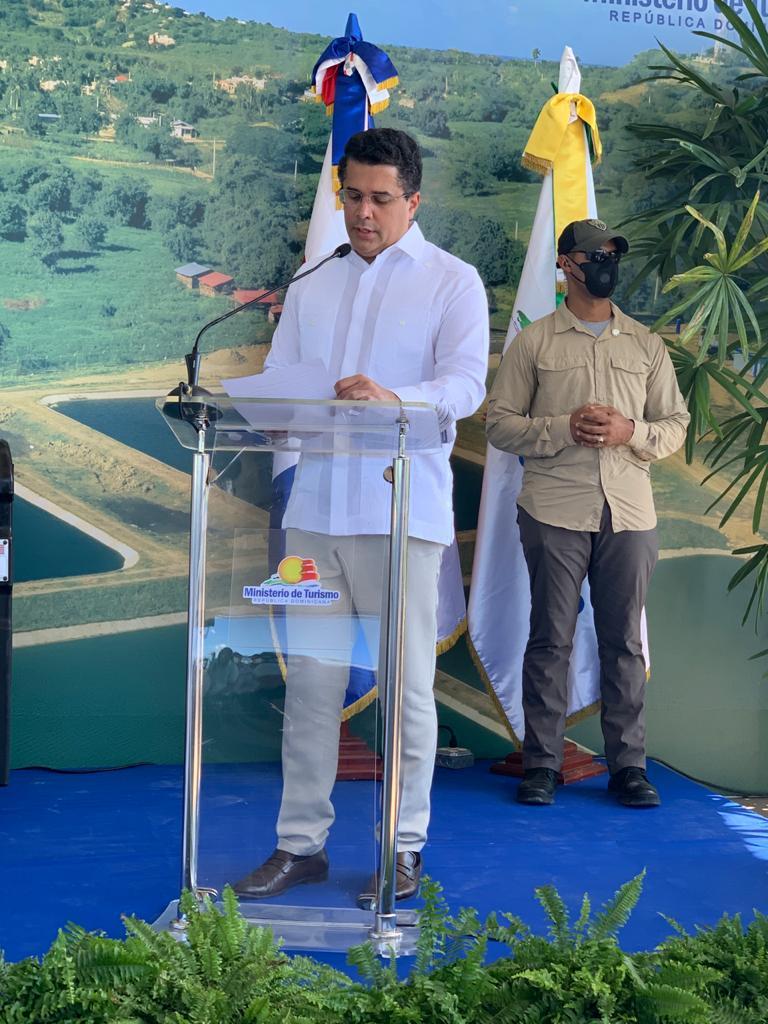 David Collado, ministro de Turismo dominicano.