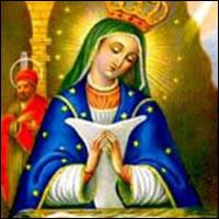 Imagen de la Virgen de la Altagracia
