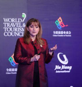 Gloria Guevara presidenta del WTTC