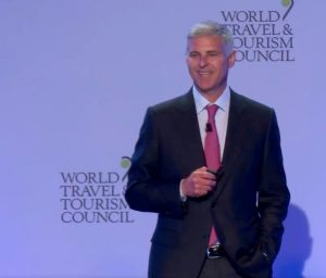 Chris Nassetta, presidente de WTTC