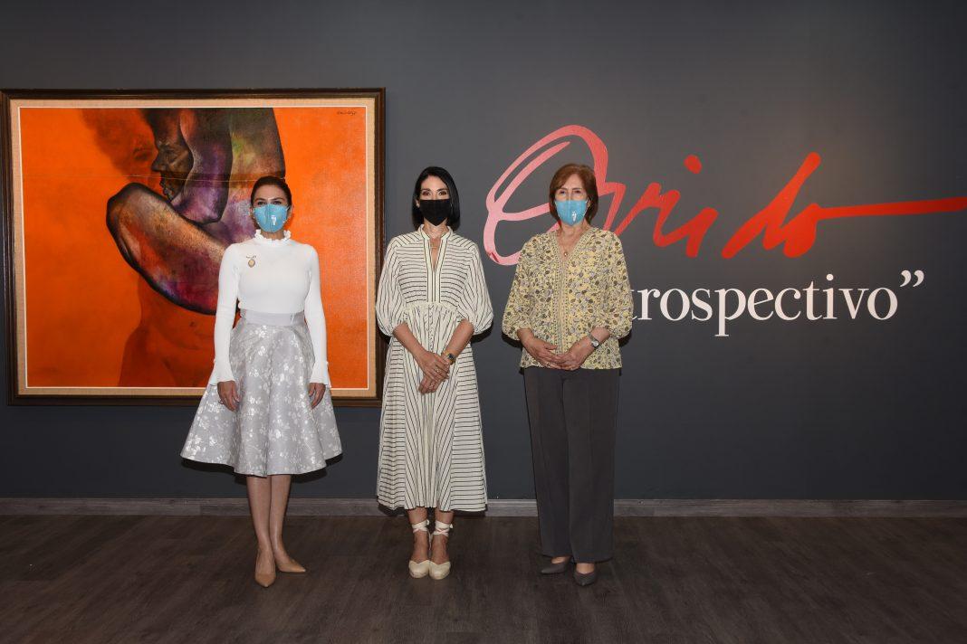 La primera dama y la alcaldesa visitan la Galería de Arte Ramón Oviedo
