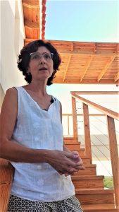 Dolores Puértolas, administradora del eco hotel Las Caobitas
