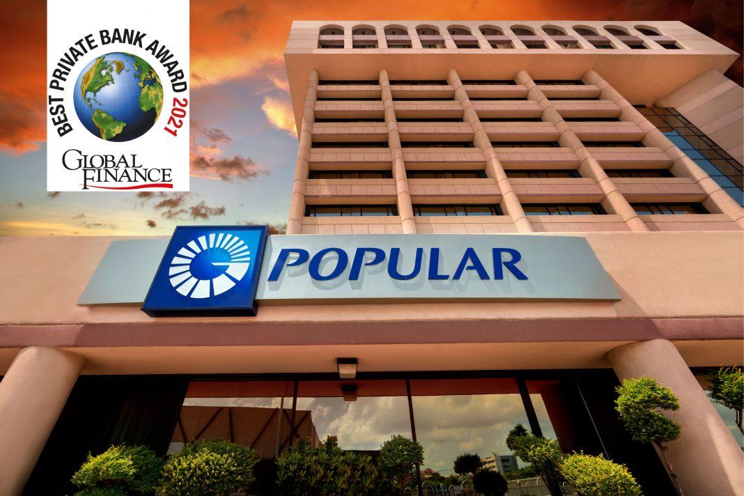 Global Finance reconoce al Popular con la mejor banca privada